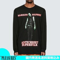 【新作/コラボ】PLEASURES x MARILYN MANSON SUPERSTAR Tシャツ