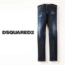 DSQUARED2 COOL GUY JEAN ペイント ダメージ&リペア s74lb0767