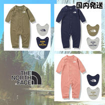 The North Face☆B L/S Rompers & 2P Bib 安心の国内発送・買付