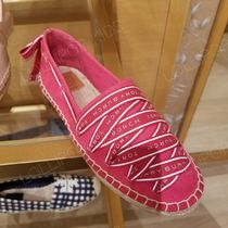 2020 NEW♪ Tory Burch ◆ LOGO GROSGRAIN ESPADRILLE