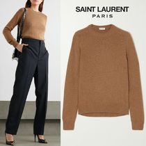 ∞∞ Saint Laurent ∞∞ Camel wool ニット☆