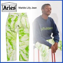 20AW◇UK発◇LUXURYストリート◆ARIES◆Marble Lilly Jean