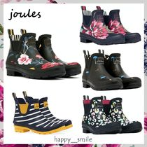 §Joules Clothing§ 国内発送 ショートプリントレインブーツ