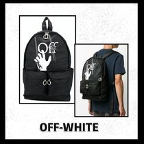 Off-White ロゴ バックパック3