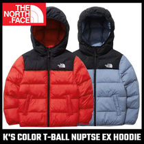 【THE NORTH FACE】K'S COLOR T-BALL NUPTSE EX HOODIE