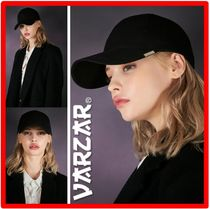 ☆韓国の人気☆VARZAR☆Twill metal buckle over fit ball cap☆