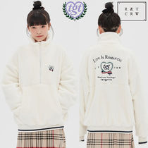 ROMANTIC CROWN★[TGT X RMTCRW] YETI ANORAK_OATMEAL