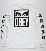 Obey Vision Of Obey L/S T-Shirt White M Tシャツ