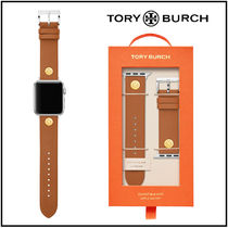 【TORY BURCH】Leather Apple Watch Strap 38/40mm