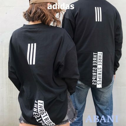 国内発送★adidas★OVERSIZE BACK PRINT TEE 3STRIPES★MEN'S