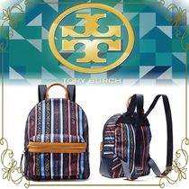 【TORY BURCH Perry プリントシェル生地】 バックパック 限定品