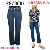 RE DONE(リダン) デニム・ジーパン 限定セール関税送料込☆RE DONEリダン レディース70s trousers