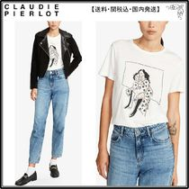 【海外限定】ClaudiePierlotシャツ☆Tapia graphic-print cotton