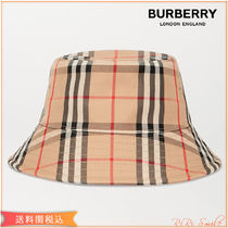 BURBERRY ヴィンテージチェック バケット ハット