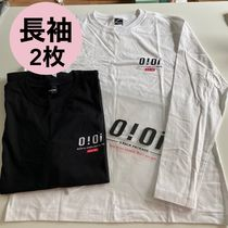 【5252 by OiOi】ORIGINAL LOGO 2 PACK LONG SLEEVE T-SHIRTS