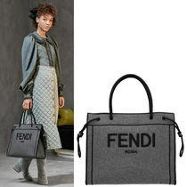 FE2798 LOOK2 FENDI ROMA SHOPPER TOTE