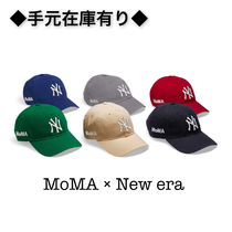 【国内完売品】MoMA × NY Yankees Cap × NEW ERA コラボ CAP