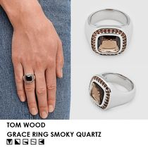 【UNISEX/完売必須】TOM WOOD・GRACE RING SMOKY QUARTZ