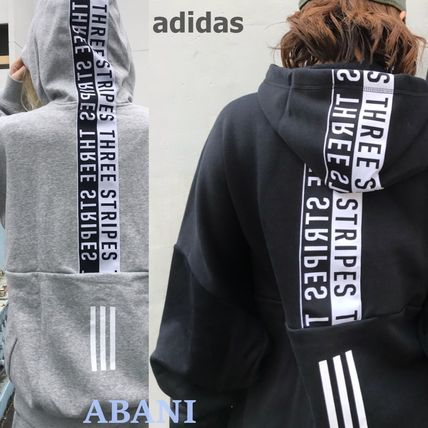 国内発送★adidas★BACK PRINT FULL-ZIP SWEAT HOODIE★MEN'S