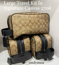 COACH★メンズ★Large Travel Kit In Signature Canvas 2706