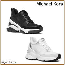 国内発送【MICHAEL KORS】Mickey Scuba and Leather Trainer