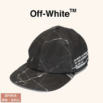 OFF-WHITE Vancouver Marble ロゴ キャップ 関税送料込