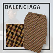 *Balenciaga* asymmetrical pencil skirt