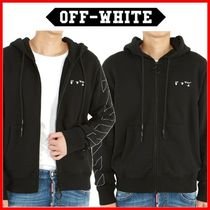 ☆Off-White☆ OW ロゴ スリム フードジップアップ ☆正規品☆