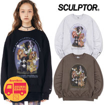 SCULPTOR Puppy Friends Sweatshirt BBH179 追跡付