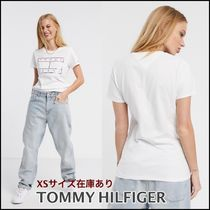 ■TOMMY HILFIGER■Tommy Jeans メタリックフラッグTシャツ