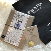 【限定品】PRADA Traveler's notebook leather cover +Brass Tag