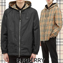 ★BURBERRY★STRETON CHECK REVERSIBLE JACKET リバーシブル♪