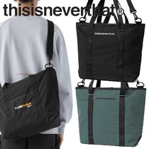 ★thisisneverthat★CORDURA Zip-Top Tote Bag 2色