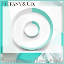 【Tiffany】カラーブロック Two-piece Serving Set