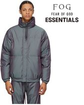 FOD Essentials Grey Iridescent Puffer Jacket 国内発送 正規品