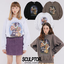 ★SCULPTOR★日本未入荷 韓国 大人気 Puppy Friends Sweatshirt