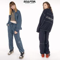 【SCULPTOR】Triple stitched Jogger Pants 2カラー 男女兼用★