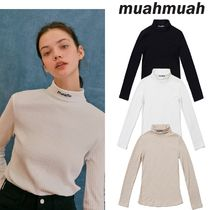 【muahmuah】20F/W Stitch Turtleneck Tシャツ 3色