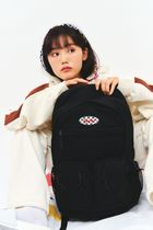 【FEVERTIME】20fw DOUBLE POCKET BACKPACK ブラック