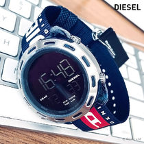 ★クール! 安心ヤマト便★DIESEL Crusher Digital Nylon Watch