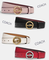 COACH◆レディース Horse And Carriage Belt 25mm ベルト