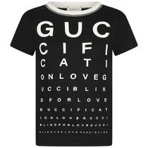 2020AW GUCCI大人も着れる GUCCIFICATIONロゴTシャツ BK(CP-12Y)