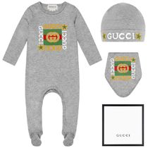 2020AW GUCCI Baby ☆ ロゴマークベビーグローギフト GR (CP-9m)