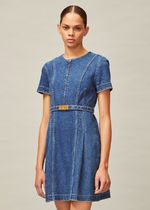 Tory Burch NADIA DENIM DRESS