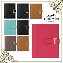 HERMES☆財布 ベアン コンパクト ヴォー・エプソン ギフトに