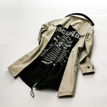 DSQUARED2トレンチHybrid Stretch Cotton Trench Coat s74ah0096