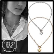 ★送料・関税込★VINTAGE HOLLYWOOD★Love Lock Heart Necklace