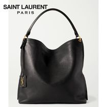 ∞∞ Saint Laurent ∞∞  Tag leather hobo バッグ☆
