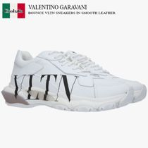 VALENTINO GARAVANI BOUNCE VLTN SNEAKERS IN SMOOTH LEATHER