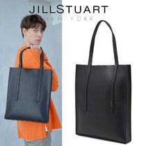 ★JILLSTUART NEWYORK★JASON Slim Tote bag BLACK